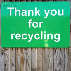 Obrigado por reciclar!!!!