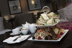 Afternoon Tea at Hotel Felix, Cambridge