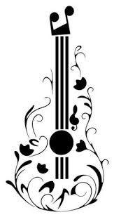 Resultado de imagem para Imagens de violão estilizado