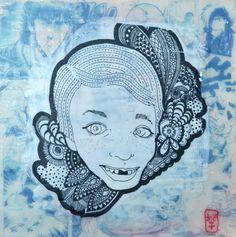 In my child's world - BLUE