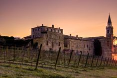 Have you ever seen the place where the Marina Cvetic wine (Montepulciano d'Abruzzo) is produced? That's the Semivicoli's Castle.