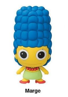 The Simpsons Figural Keychain Marge Simpson