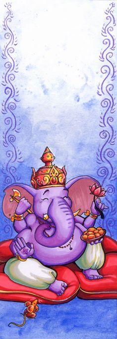 Happy Ganesha by lizardbeth