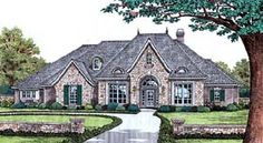 Traditional House Plan 2553 ft2