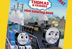 Get your crayons and markers ready! The Thomas & Friends Coloring Express mini book is ready to print and color.