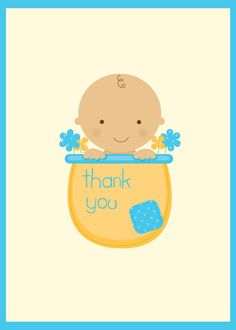 baby shower thank yous on pinterest baby shower thank you thank