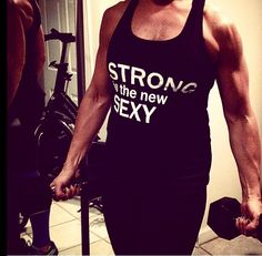 STRONG IS THE NEW SEXY - American apparel racer back tri-blend tanks. FREE SHIPPING IN US. #cyber Monday #workout #fitness #best fotness gifts #fitness tees #fitness tops #gifts for fitness #exercise #exercise gifts #motivation #squat #fitspo #lift #weigh train #body build #crossfit #women's health #women's fitness gifts #weight train women