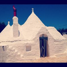 Trullo Bianco. Ceglie Messapica, Puglia #cegliemessapica