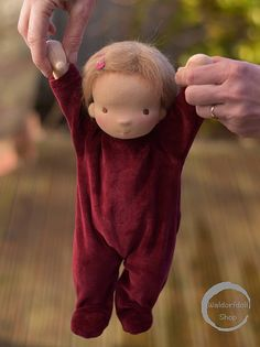 "13"" Baby Waldorf Doll by Waldorfdollshop 