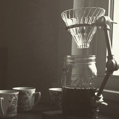 For more coffee inspirations from Japan visit www. Coffee Pour Over Stand, Brew Stand, V60 Coffee, Brewing, Coffee Maker, Japan, Awesome, Tableware, Instagram Posts