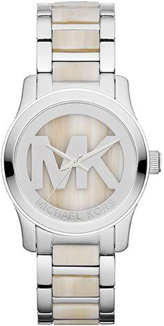 MK5787 - Authorized michael kors watch dealer - Mid-Size michael kors Runway Logo, michael kors watch, michael kors watches