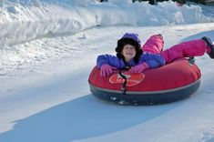 Snow Tubing in New England is a Chilly Thrill!