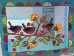 Sue Spargo. Bird and Berries