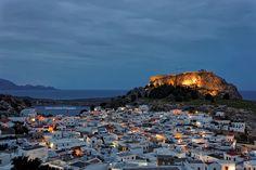 Lindos Rhodes Greece by Dimitris Koskinas