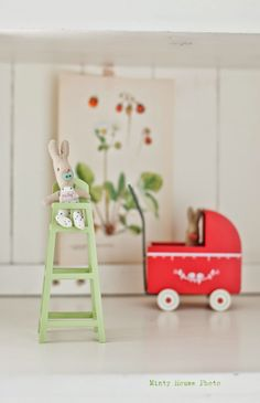Minty House likes Maileg, Rabbit baby, for kids