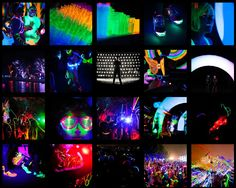 Forget the Color Run, check out the Electric Run!