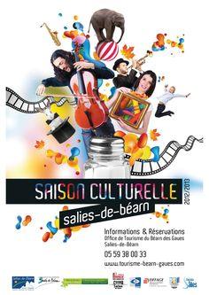La première saison culturelle de Salies-de-Béarn