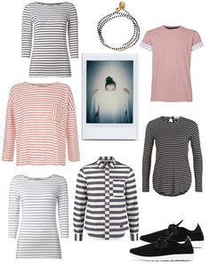 Fair Fashion, sustainable and vegan looks with stripes!