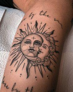 Sun Tattoos, Dainty Tattoos, Dope Tattoos, Dream Tattoos, Pretty Tattoos, Body Art Tattoos, Sleeve Tattoos, Small Tattoos, Tatoos