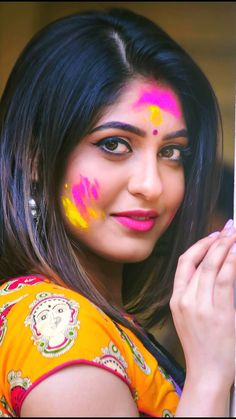 """Holi Wishes Messages 2021 During this spring here comes again """"Happy Holi""""""""Festival of holi"""" will be held on Monday, 9 March 2021 Beautiful Girl Indian, Most Beautiful Indian Actress, Beautiful Eyes, Beautiful Beautiful, Gorgeous Women, Amazing Women, Beauty Full Girl, Beauty Women, Holi Girls"""