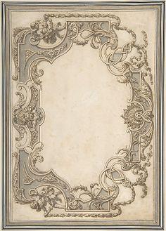 Design for a Ceiling  Jean Berain  (French, Saint-Mihiel 1640–1711 Paris)