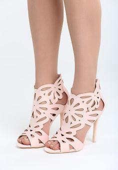Sandale cu toc Kate Peeps, Peep Toe, Shoes, Fashion, Sandals, Moda, Zapatos, Shoes Outlet, Fashion Styles
