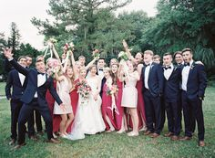 happy-bridal-party