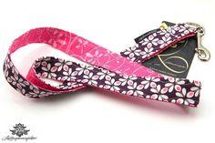 Schlüsselband von #Lieblingsmanufaktur: lila, pink