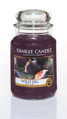 Yankee Candle Wild Fig Large Jar (New for Autumn 2014): Amazon.co.uk: Kitchen & Home