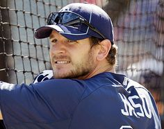 John Jaso, catcher...back with the Rays again. The Official Site of The Tampa Bay Rays | raysbaseball.com: Homepage
