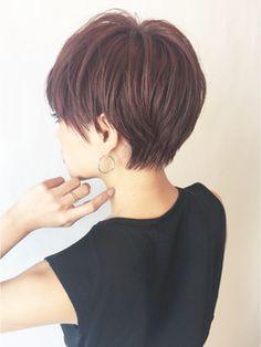 【ALBUM渋谷】NOBU_ピンクアッシュショート_4766 - ヘアスタイル・髪型・ヘアカタログ [キレイスタイル]