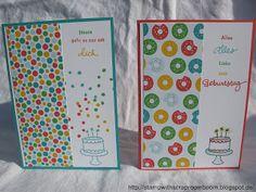 Stampin mit Scraproomboom - Stampin' Up! Geburtstagspuzzle