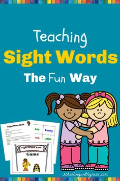 Make sight words fun with these great activities and games