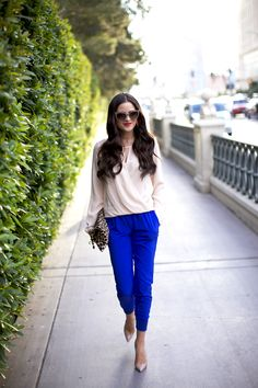 A fun pant pop for spring and summer!