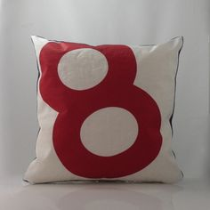 Add an instant dash of nautical style to any setting! This pillow is made from upcycled sail boat sails. Recycled sail cloth pillows are great for kids