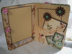 altered journal from manila folders - Google Search