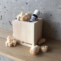 Raumduft Zirbe – nussbag Knife Block, Relaxing Room, Rustic, Timber Wood