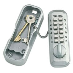 LOCKEY KEY STORE - The Lockey Digital Keysafe has been designed using an existing Lockey product to maintain Lockeys high quality and performance standards.  This key safe is perfect for use in remote locations where key handover is difficult.  It is ideal for carers, gardeners, cleaners and workmen, as well as for kids who may forget or lose their keys.