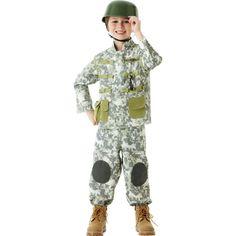 Boys Combat Soldier Costume