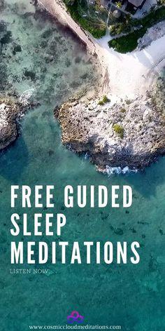 Free Guided Meditations (sleep, gratitude, beginners, business, self-love, inner child, affirmations)