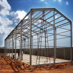 Oriental Pre Engineered Buildings - Designing the best steel structural buildings in Kerala. Warehouse Home, Warehouse Design, Steel Structure Buildings, Roof Structure, Pre Engineered Buildings, Construction Contractors, Steel Fabrication, Prefabricated Houses, Construction Design
