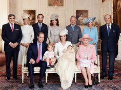 Here's the Royal Family. They're a pretty fancy bunch, and William and Kate are probably the most visible public figures out of the group.
