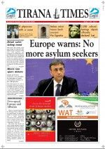 Tirana Times - Albania's weekly English language newspaper