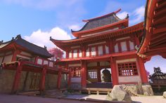 MMO-Champion - World of Warcraft News and Raiding Strategies Chinese Buildings, Gothic Buildings, Chinese Architecture, Architecture Art, Office Buildings, Futuristic Architecture, Landscape Concept, Fantasy Landscape, Environment Concept Art