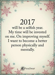 This is how I've been living my 2017. It's a great feeling. 2018 will be the same! ❤