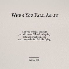 When you Fall Again