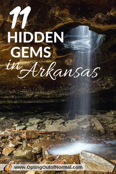 Off the Beaten Path in Arkansas. 11 Hidden Gems We Bet You Didn't Know About Enjoy Little Rock and Hot Springs, but if you want to skip the crowds and check out the more unique hidden gems in Arkansas, check out our most amazing finds. Eureka Springs Arkansas, Cairns, Tasmania, Places To See, Places To Travel, Us Travel Destinations, Arkansas Waterfalls, Arkansas Vacations, Arkansas Camping