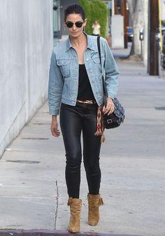11 Looks da Lily Aldridge por aí - Fashionismo
