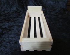 Soap Box, Salve display, Soap Display, Wood display box, soap crate, display crate - inside 8 1/4 long x 3 wide x 1 3/4 x 1 1/2 tall