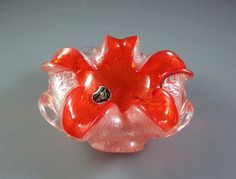 Vetro Murano Italian Venetian Glass Bowl with by Successionary, $72.99